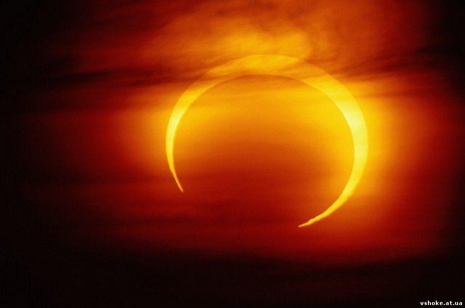 С давних времен считалось, что лунное или солнечное затмение - это некий знак...